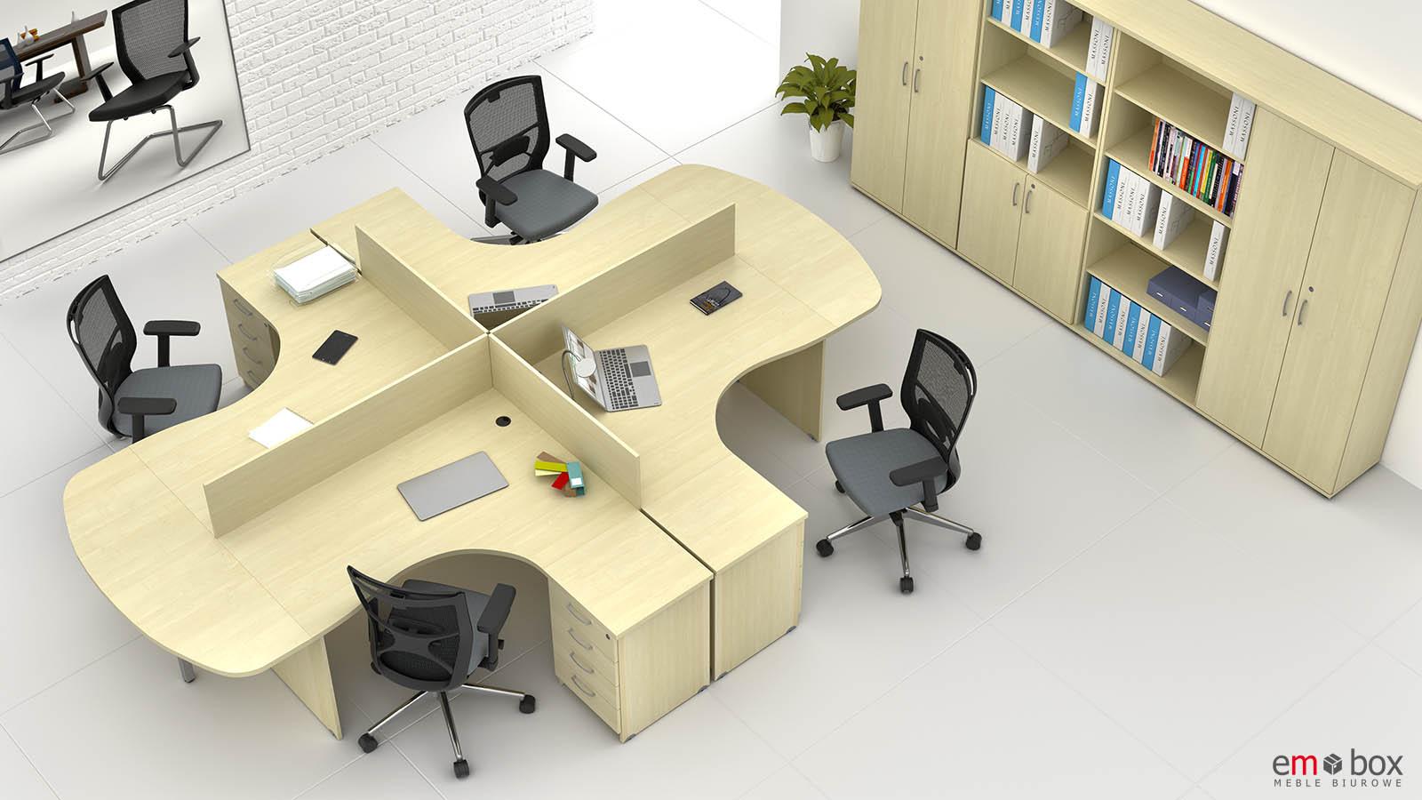 meble; biurowe; biurka; pracownicze; niskie; ceny;